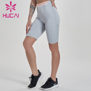 China Wholesale Women Spandex Gym Shorts Manufacturer-Custom Service
