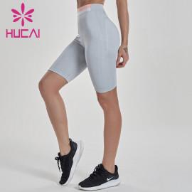 China Wholesale Women Spandex Gym Shorts Manufacturer-Custom Service