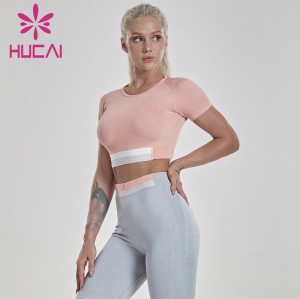 China Private Lable Custom Seamless Crop Top Manufacturer-Wholesale Price