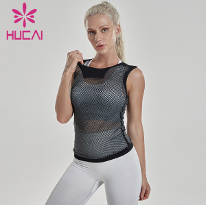China Wholesale Custom Mesh Tank Top Manufacturer-Private Lable Service