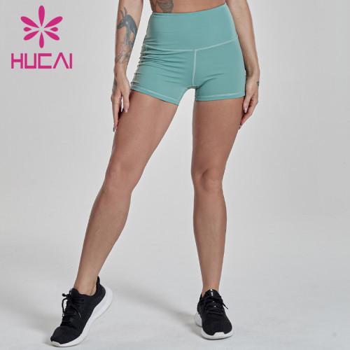 China Wholesale Women High Waist Shorts Manufacturer-200 PCS MOQ