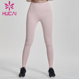 China Wholesale Women High Waist Yoga Tights Supplier-Custom Service