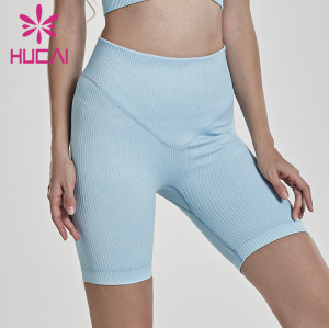 Private Label Women Wholesale Seamless Shorts Manufacturer-Custom Service