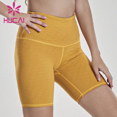 China Wholesale Women Yoga Shorts Manufacturer-Private Label Service