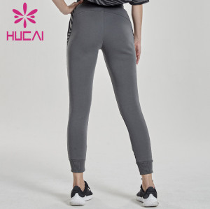 China Wholesale Women Joggers Sweatpants Manufacturer-Private Label Service