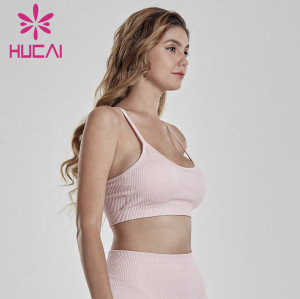 Wholesale Running Apparel Women Strappy Sports Bra Manufacturer-Custom Service