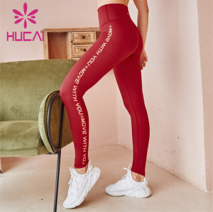 Wholesale Custom Gym Printed High Waist Leggings