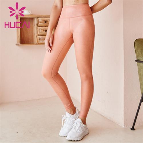 High Waist Solid Color Yoga Pants Wholesale Customization