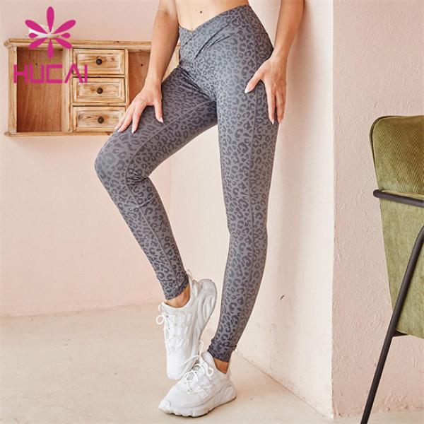 High Waist Printed Yoga Pants Wholesale Customization