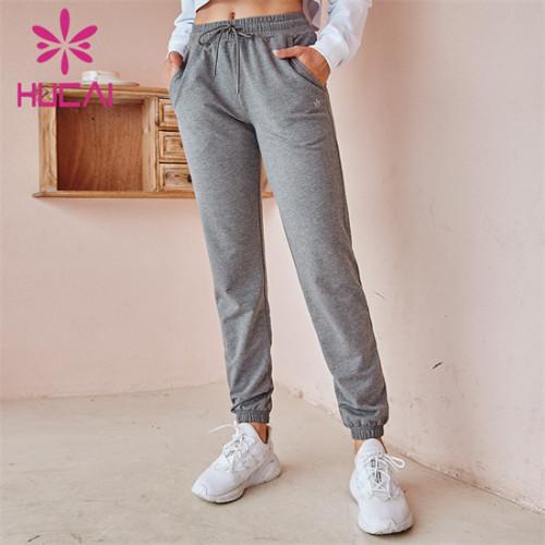 Loose Mid-Waist Sports Pants Wholesale Customization