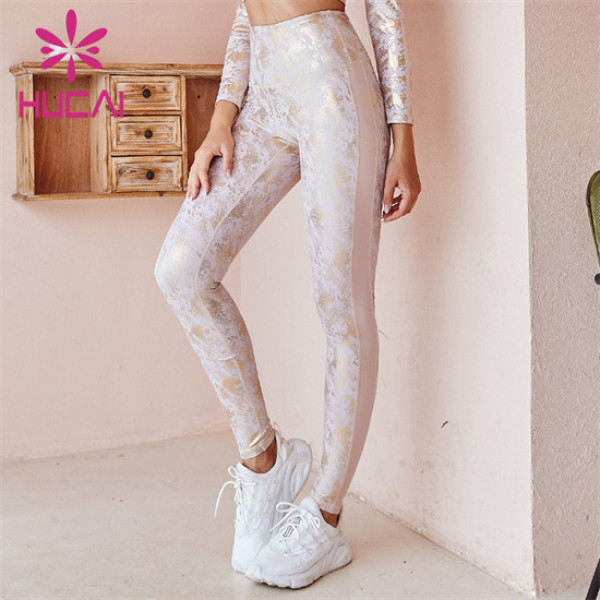 Manufacturer Of High-waist Printed Lace Leggings