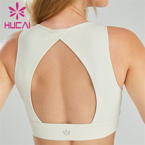 Custom Sportswear Hollow Open Back Design Sports Bra