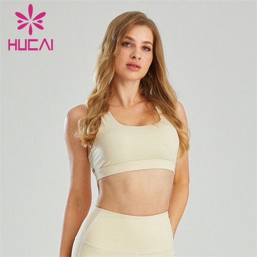 Customized Wholesale High-intensity Running Fitness Sports Bra