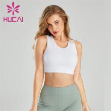 Fashion Hollow Running Fitness Sports Bra Wholesale
