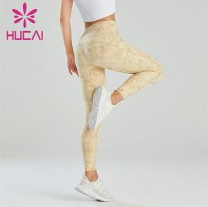 Fashion Digital Printing High Waist Hip Leggings Customization