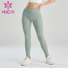 Pure Color Abdominal Sports Leggings Wholesale Manufacturer