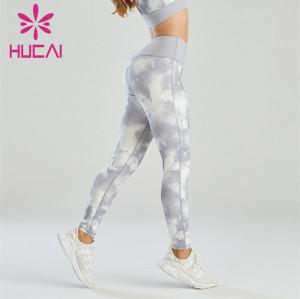 Fashion Tie-dye Craft Fitness Leggings Wholesale Supplier
