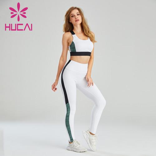 Contrasting Color Design Private Label Athletic Wear