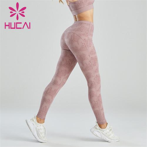 Gym High Waist Printing Design Leggings Wholesale