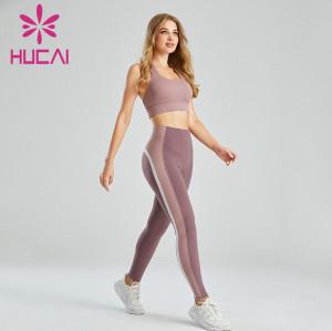Wholesale Women's Fashion Sportswear Three-Color Contrast