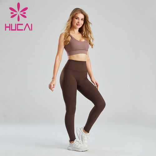 Contrasting Color Matching Design Quality Sportswear Wholesale