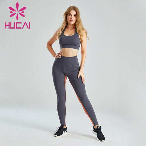 Fitness Clothes Private Label Contrast Stitching Design