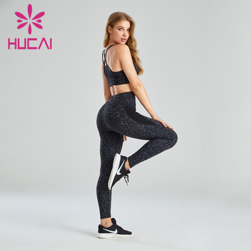 Fitness Clothes Private Label Digital Printing Stitching Design