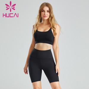 Biker Shorts And Top Set Wholesale Classic Design