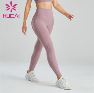 Gym Ladies High Waist Hip Leggings Wholesale Customization
