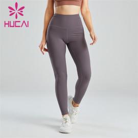 Gym Dark Gray High Waist Fitness Leggings Wholesale