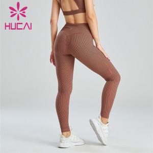 Fashion Houndstooth Pattern Digital Printing Leggings Customization