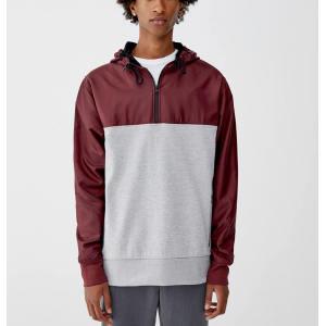 Wholesale mens workout wear pullover windbreaker jackets