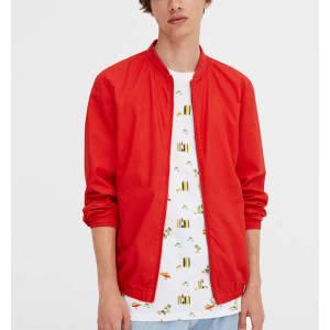 Custom mens 100% cotton active wear windbreaker bomber jackets