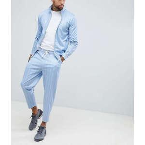 Wholesale mens side stripe sports wear slim fit tracksuits