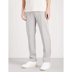OEM Mens Activewear Side Stripe Cotton Jersey Jogging Track Sweatpants