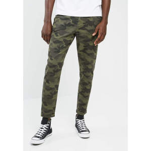 Custom Mens Camo Cropped Chino Workout Activewear Jogger Sweatpants