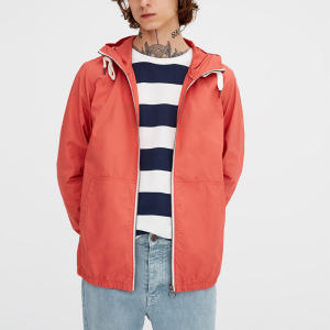 Wholesale Mens Sports Wear Zipper Up Gym Windbreaker Jackets