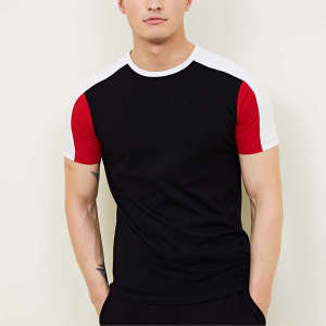 Wholesale mens manufacturer china activewear muscle fit t-shirts