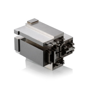 High-precision Customized Square EDM Spare Parts for Automoile Connector Molds