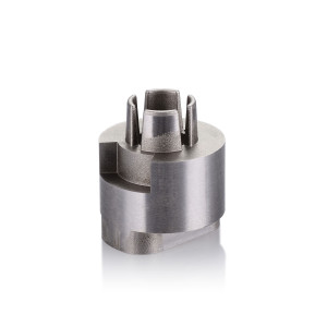 Round Connector Mold Parts +/-0.005mm EDM Tolerance Surface Grinding Machining
