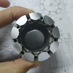 Precision Complex Round EDM Spare Parts for Automobile Connector Moulds