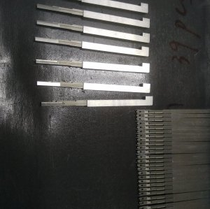 High-Precision Mold Spare Parts Inserts for TE Connector