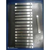 Precision Plastic Mold Components 8+8 Symmitrical  in 1.2344esu Steel