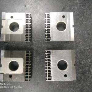 Precision Custom Injection Mold Components With Wire Cutting EDM Machining