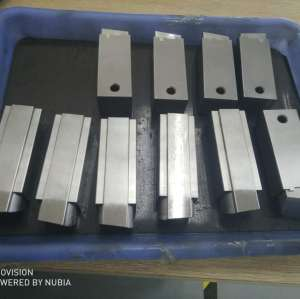 Precision Spark Eroded Mold Spare Parts With Technical Polish