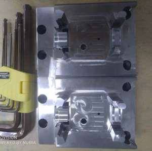 Precision Plastic Injection Mold Components Finished By Techinical Polished