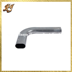 Galvanized Flat Oval Vent Exhaust Steel Tubing / Pipe