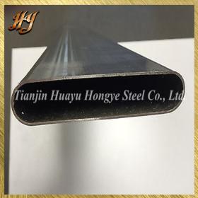 Galvanized Steel Vibrant Performance Straight Oval Tubing Pipe