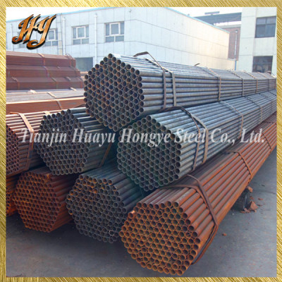 ERW Welded Steel Pipe Tubing for Building