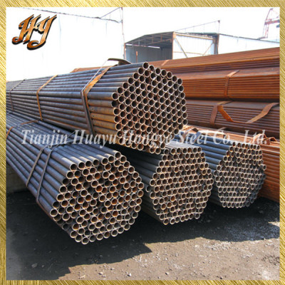 ERW Black Steel Pipe Tubing for Building